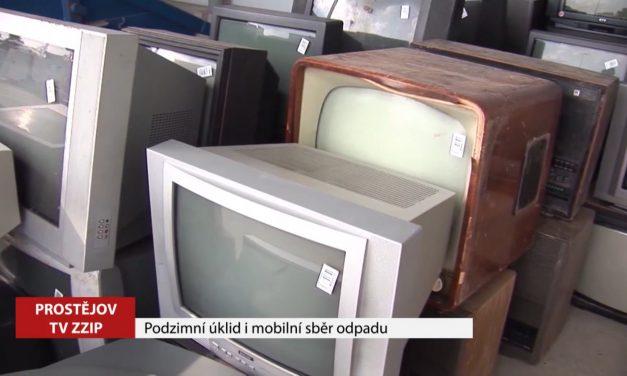 V říjnu proběhne podzimní úklid i mobilní sběr odpadu
