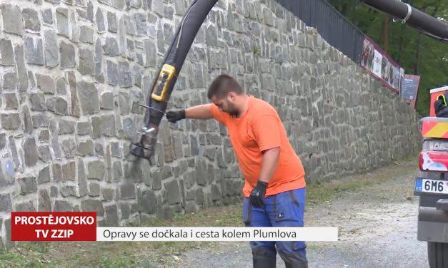 Opravy se dočkala i cesta kolem Plumlova