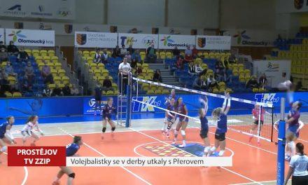 Volejbalistky se v derby utkaly s Přerovem