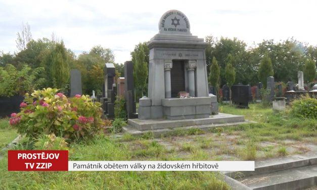 Památník na novém židovském hřbitově má 70 let