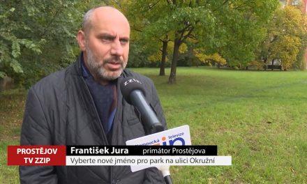 Vyberte nové jméno pro park na Okružní ulici