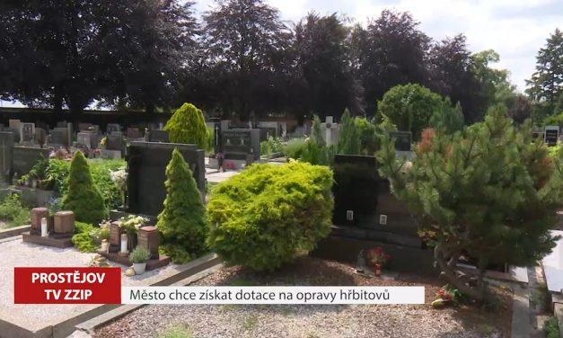 Město chce získat dotace na opravy hřbitovů