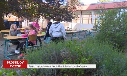 Město vybuduje ve třech školách venkovní učebny