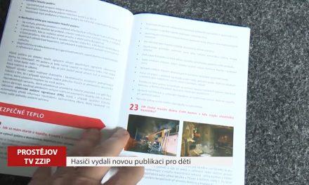 Hasiči vydali novou publikaci pro děti