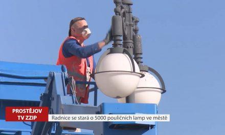 Radnice se stará o pět tisíc pouličních lamp