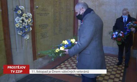 Prostějovský primátor uctil válečné veterány
