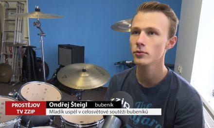Mladík uspěl v celosvětové soutěži bubeníků