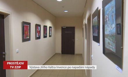 Výstava Jiřího Valtra Invence po napadání nápady