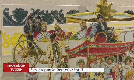 Stovka papírových betlémů ve Špalíčku