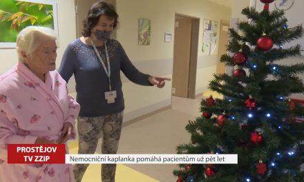 Nemocniční kaplanka pomáhá pacientům už pět let