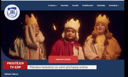 Tříkráloví koledníci za vámi přicházejí online