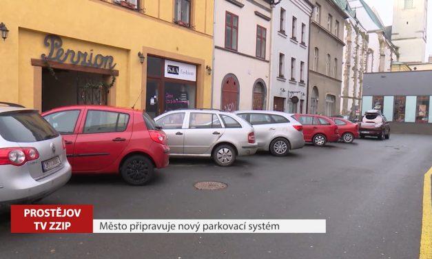 Město připravuje nový parkovací systém