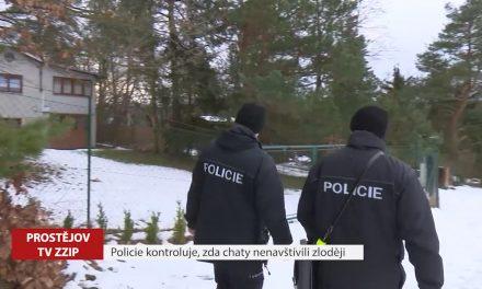 Policie kontroluje, zda chaty nenavštívili zloději