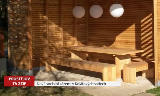 Nové sociální zázemí v Kolářových sadech