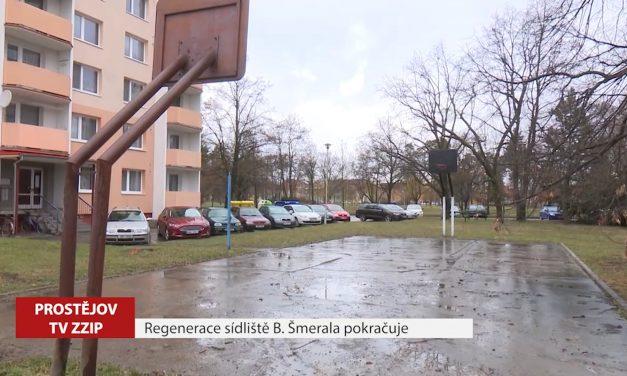 Regenerace sídliště Bohumíra Šmerala pokračuje