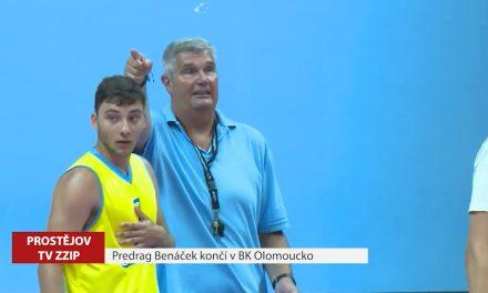 Predrag Benáček končí v BK Olomoucko