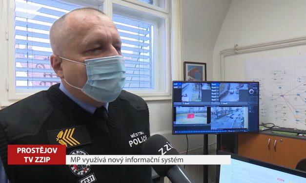 Městská policie využívá nový informační systém