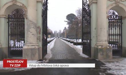 Vstup do hřbitova čeká oprava