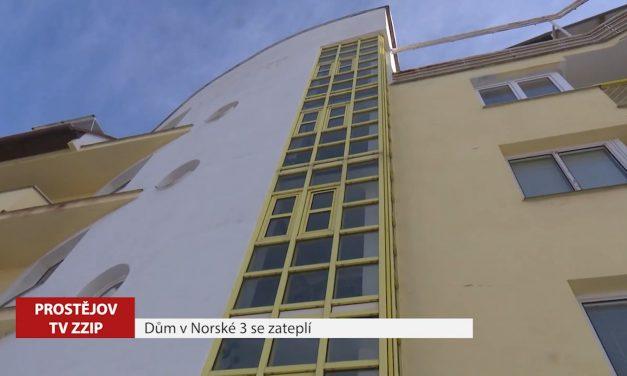 Dům v Norské 3 se zateplí