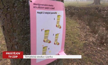 Tématická stezka v parku zabaví děti i dospělé