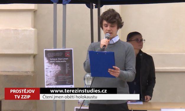 V Prostějově se budou znovu číst jména obětí holokaustu