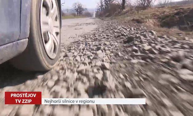 Která silnice v regionu je nejhorší
