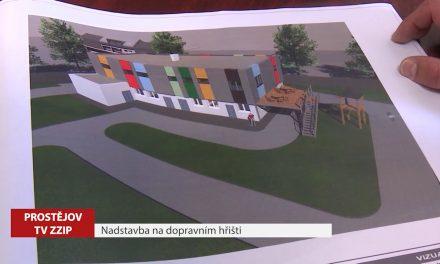 Budova u dětského dopravního hřiště se zvýší o další patro