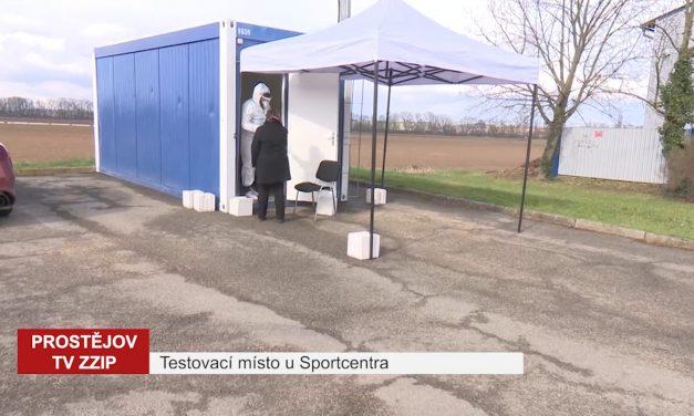 U Sportcentra se můžete nechat bezplatně otestovat na covid-19