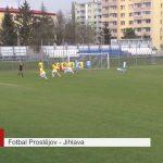 Jihlavští fotbalisté si z Prostějova odvezli vítězství