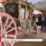 Novinky v muzeu kočárů