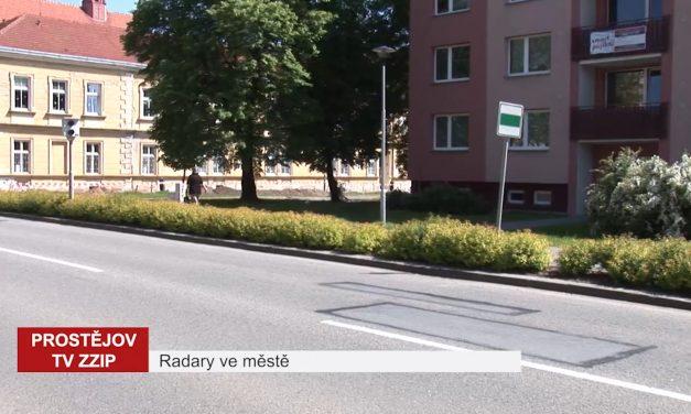 Ke snížení nehodovosti v Prostějově přispějí radary na měření rychlosti