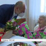 Paní Marie Dvořáková oslavila sto let