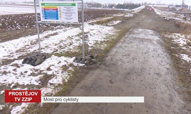 Most pro cyklisty by se mohl otevřít během června