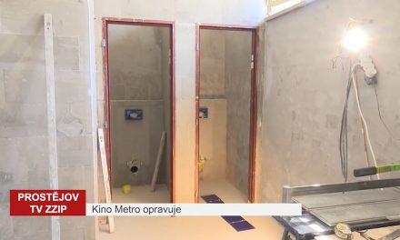 Kino Metro využívá času k opravám
