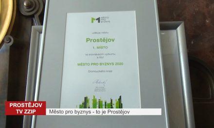 Město pro byznys – to je Prostějov