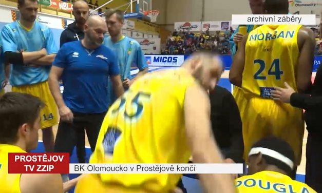 BK Olomoucko v Prostějově končí