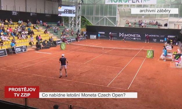 Co nabídne letošní Moneta Czech Open?