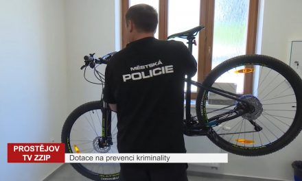 Prostějov dostane od kraje peníze na program prevence kriminality