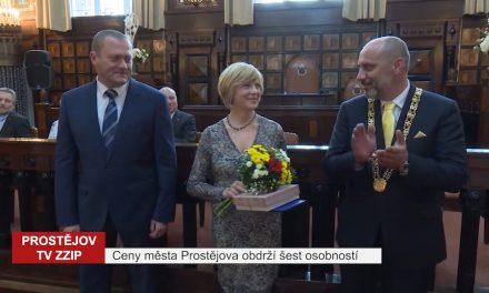 Ceny města Prostějova obdrží šest osobností