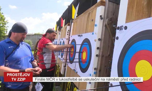 Finále šampionátu v lukostřelbě proběhne přímo na náměstí