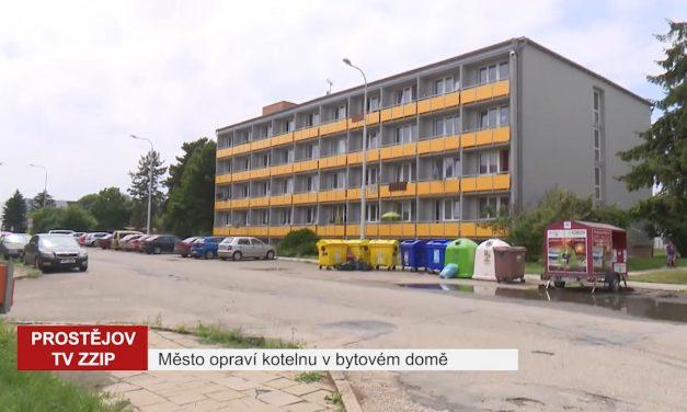 Město opraví kotelnu v bytovém domě