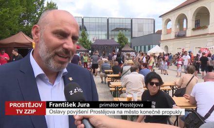 Oslavy povýšení Prostějova na město konečně propukly