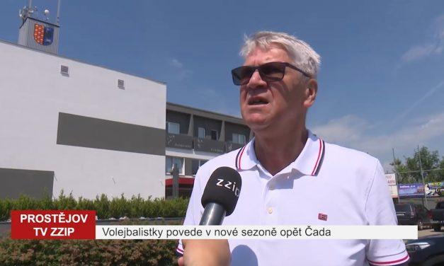 Volejbalistky povede v nové sezóně opět Miroslav Čada