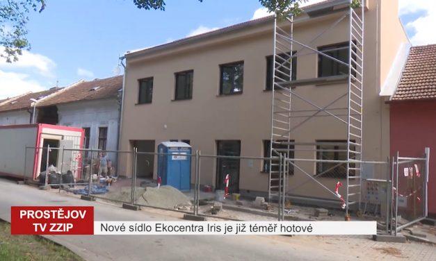 Nové sídlo Ekocentra Iris je již téměř hotové