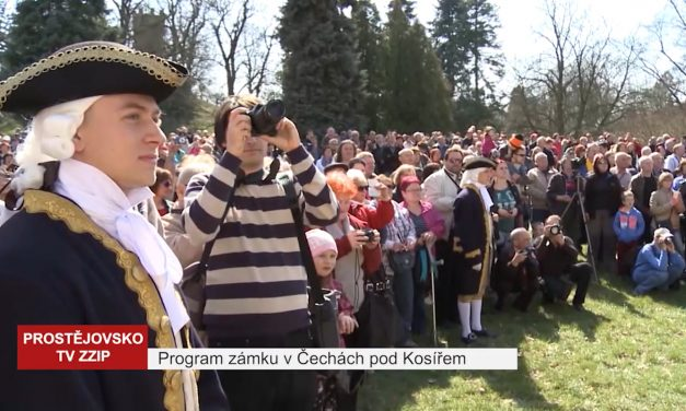 Program zámku v Čechách pod Kosířem