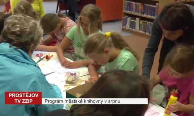 Program městské knihovny vsrpnu