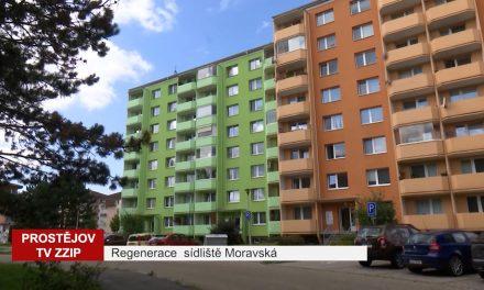 Regenerace sidliště Moravská proběhne na etapy