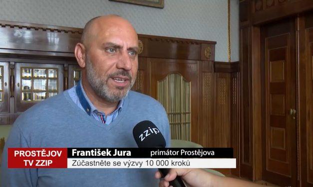 Primátor Jura se znovu zapojí do výzvy 10 000 kroků