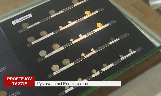 V muzeu je k vidění výstava Peníze a moc