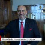 Hospodářská komora ocenila primátora